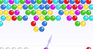 Steps to Play Game Bubble Shooter!